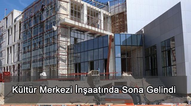 tekirdağ Kültür Merkezi İnşaatında Sona Gelindi