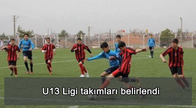 tekirdağ U13 Ligi takımları belirlendi
