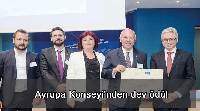 tekirdağ Avrupa Konseyi'nden dev ödül