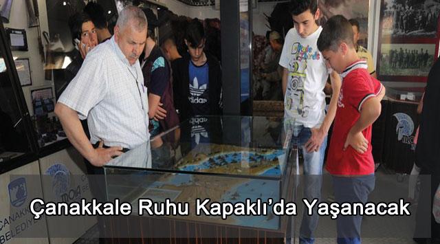 tekirdağ Çanakkale Ruhu Kapaklı'da Yaşanacak