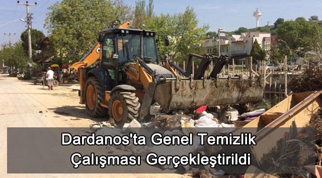 tekirdağ Dardanos'ta Genel Temizlik Çalışması Gerçekleştirildi