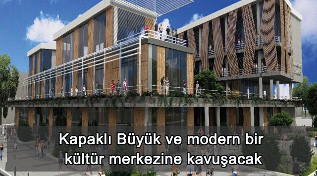tekirdağ Kapaklı Büyük ve modern bir kültür merkezine kavuşacak