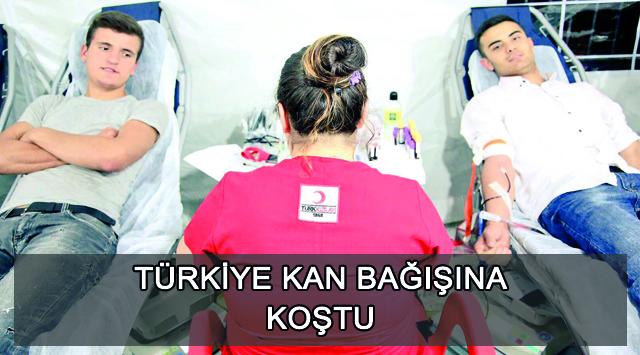 tekirdağ Türkiye Kan Bağışına Koştu