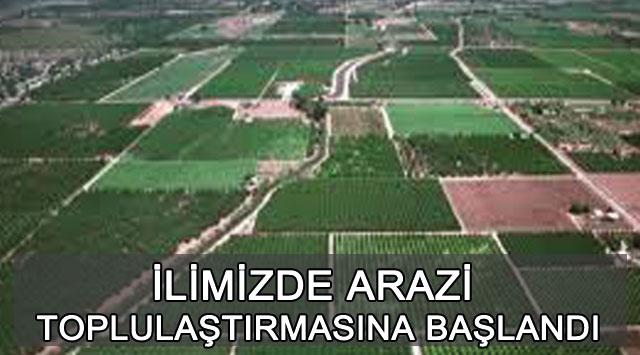 tekirdağ İLİMİZDE ARAZİ TOPLULAŞTIRMASINA BAŞLANDI