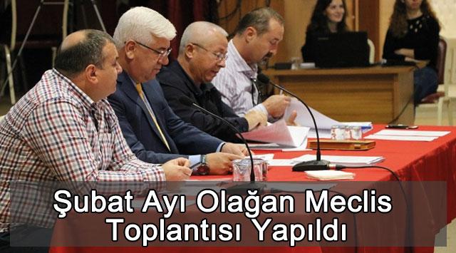 tekirdağ Şubat Ayı Olağan Meclis Toplantısı Yapıldı