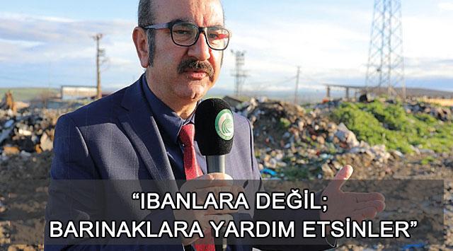 """tekirdağ """"IBANLARA DEĞİL; BARINAKLARA YARDIM ETSİNLER"""""""