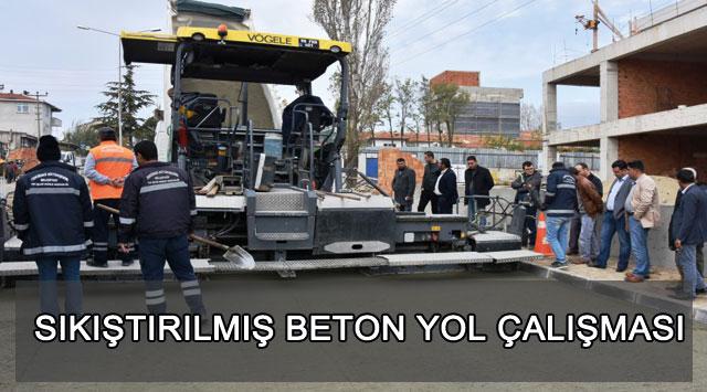 tekirdağ SIKIŞTIRILMIŞ BETON YOL ÇALIŞMASI