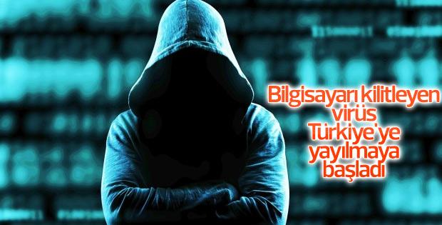 tekirdağ Bilgisayarı kilitleyen virüs Türkiye'ye yayılmaya başladı