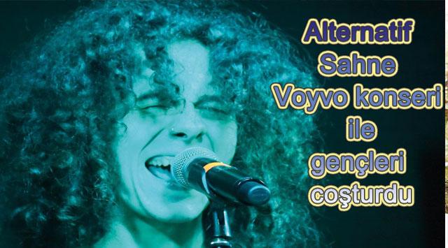tekirdağ Alternatif Sahne Voyvo konseri ile gençleri coşturdu