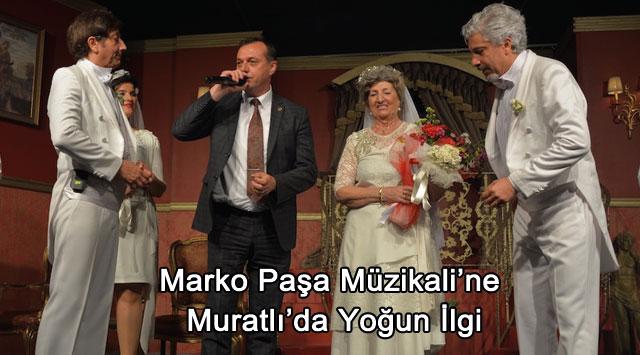 tekirdağ Marko Paşa Müzikali'ne Muratlı'da Yoğun İlgi