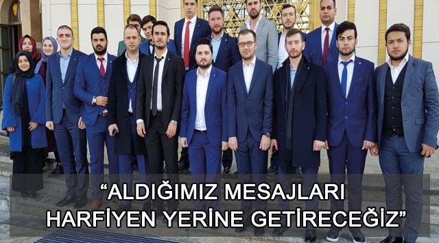 """tekirdağ """"ALDIĞIMIZ MESAJLARI HARFİYEN YERİNE GETİRECEĞİZ"""""""