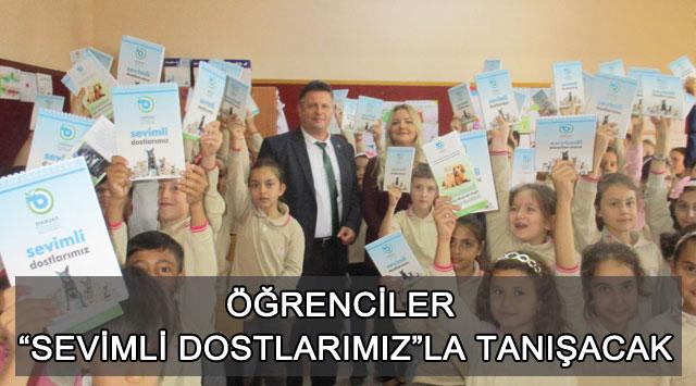 """tekirdağ ÖĞRENCİLER """"SEVİMLİ DOSTLARIMIZ""""LA TANIŞACAK"""