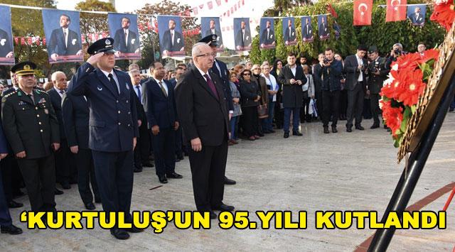 tekirdağ 'KURTULUŞ'UN 95. YILI KUTLANDI