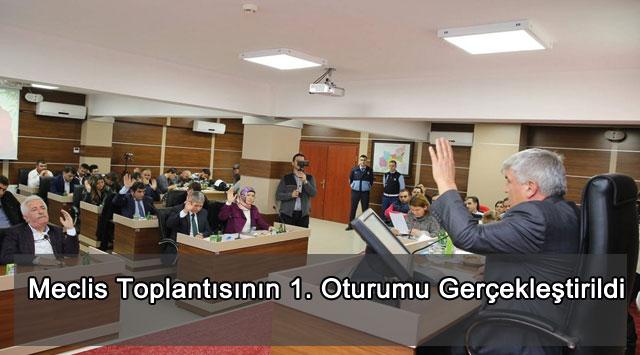 tekirdağ Meclis Toplantısının 1. Oturumu Gerçekleştirildi
