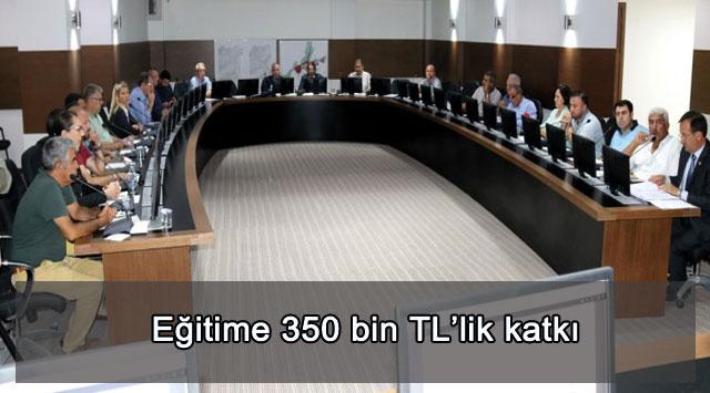 tekirdağ Eğitime 350 bin TL'lik katkı
