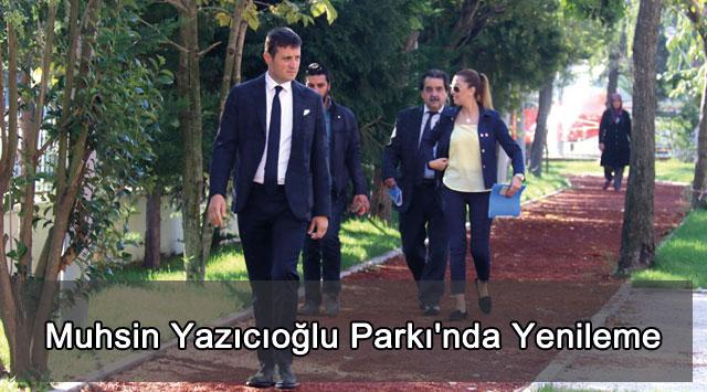 tekirdağ Muhsin Yazıcıoğlu Parkı'nda Yenileme