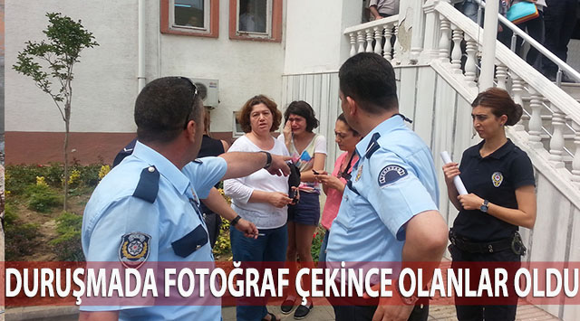 tekirdağ Duruşmada Fotoğraf çekince Gözaltına Alındı
