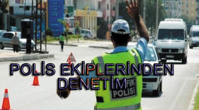 tekirdağ POLİS EKİPLERİNDEN DENETİM