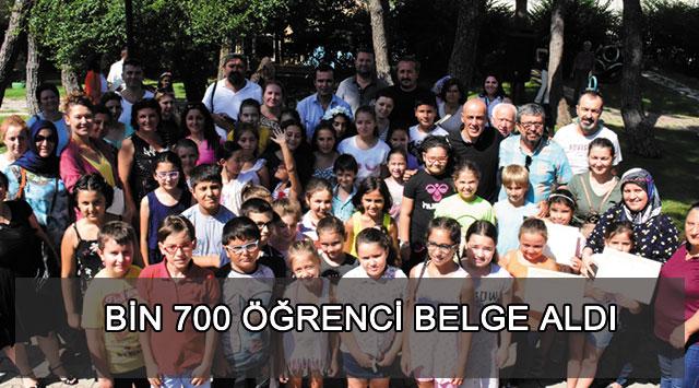 tekirdağ Bin 700 öğrenci Belge Aldı