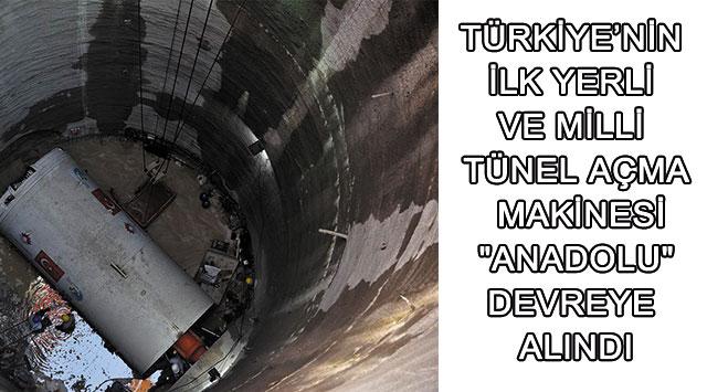 tekirdağ Türkiye'nin İlk Yerli Ve Milli Tünel Açma Makinesi