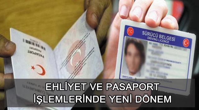 tekirdağ Ehliyet Ve Pasaport İşlemlerinde Yeni Dönem
