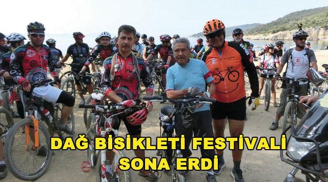 tekirdağ DAĞ BİSİKLETİ FESTİVALİ SONA ERDİ