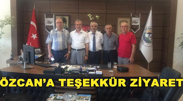 tekirdağ ÖZCAN'A TEŞEKKÜR ZİYARET
