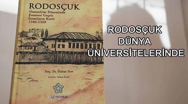 tekirdağ Rodosçuk Dünya üniversitelerinde