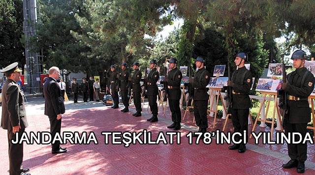 tekirdağ Jandarma Teşkilatı 178'inci Yılında