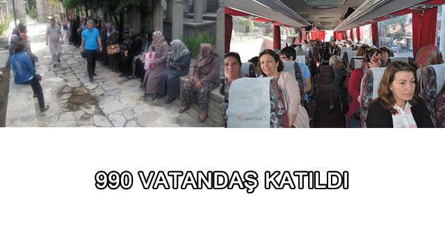 tekirdağ 990 Vatandaş Katıldı