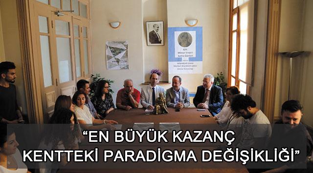 """tekirdağ """"En Büyük Kazanç Kentteki Paradigma Değişikliği"""""""