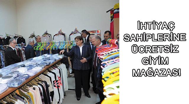 tekirdağ ücretsiz Giyim Mağazası Açıldı