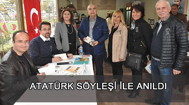 tekirdağ Atatürk Söyleşi İle Anıldı