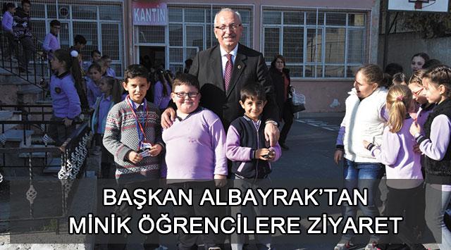 tekirdağ Başkan Albayrak'tan Minik Öğrencilere Ziyaret