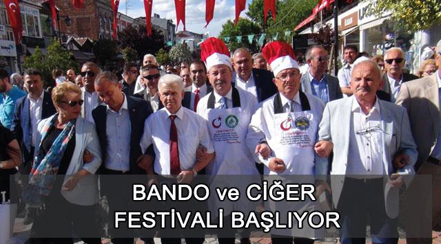 tekirdağ Bando Ve Ciğer Festivali Başlıyor