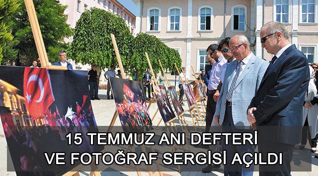 tekirdağ 15 Temmuz Anı Defteri Ve Fotoğraf Sergisi Açıldı