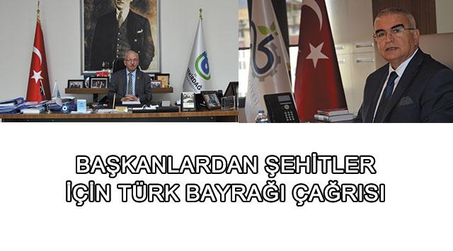 tekirdağ Başkan Baysan'dan Şehitlerimiz İçin Türk Bayrak Çağrısı