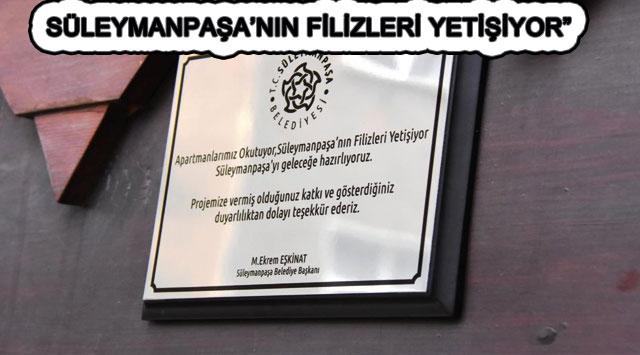 """tekirdağ SÜLEYMANPAŞA'NIN FİLİZLERİ YETİŞİYOR"""""""