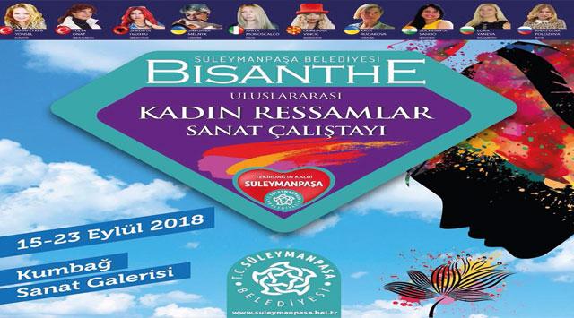 tekirdağ Bisanthe Uluslararası Kadın Ressamlar Çalıştayı başlıyor