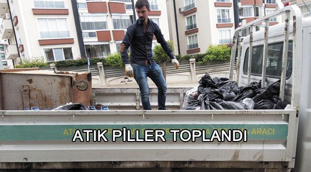 tekirdağ ATIK PİLLER TOPLANDI