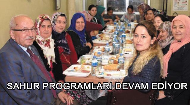 tekirdağ SAHUR PROGRAMLARI DEVAM EDİYOR