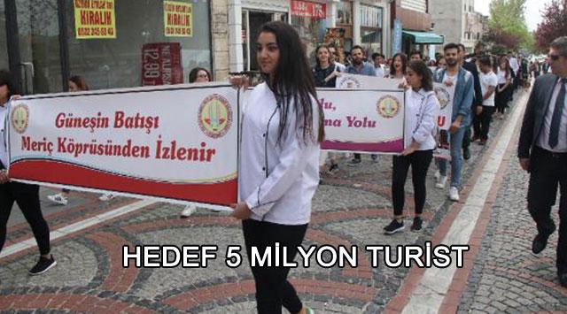 tekirdağ HEDEF 5 MİLYON TURİST