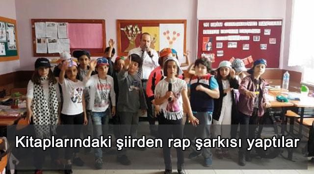 tekirdağ Kitaplarındaki şiirden rap şarkısı yaptılar