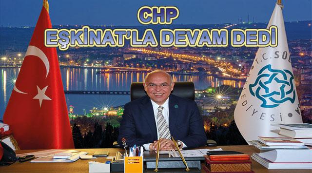 tekirdağ CHP EŞKİNAT'LA DEVAM DEDİ