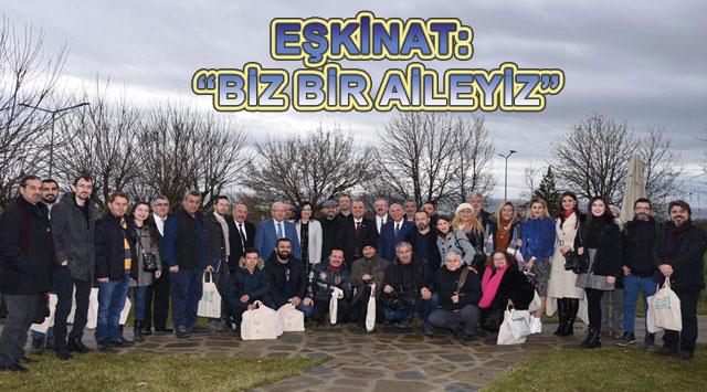 """tekirdağ EŞKİNAT: """"BİZ BİR AİLEYİZ"""""""