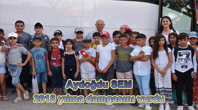 tekirdağ Aydoğdu SEM 2018 yılına damgasını vurdu