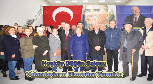 tekirdağ Hoşköy Düğün Salonu Vatandaşların Hizmetine Sunuldu
