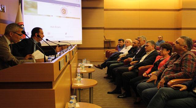 tekirdağ Taşınmaz Ticareti Yönetmeliği Tekirdağ TSO'da Anlatıldı
