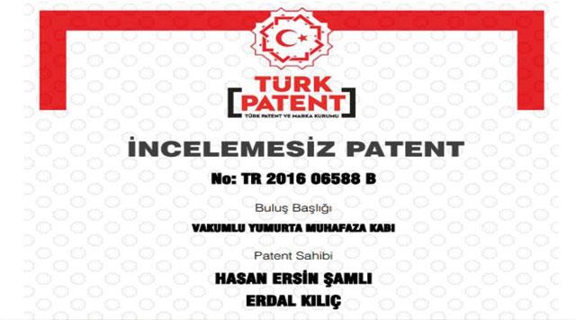 tekirdağ NKÜ'nün Bir Patenti Daha Tescillendi