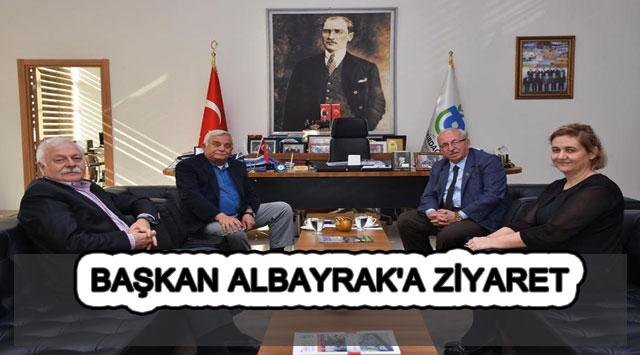 tekirdağ BAŞKAN ALBAYRAK'A ZİYARET